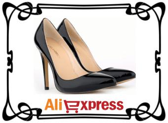 Элегантные женские туфли с AliExpress