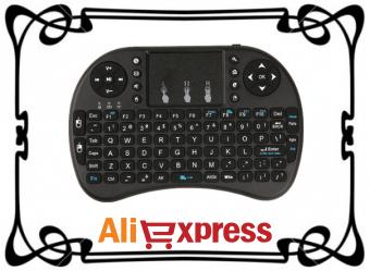 Беспроводная мини-клавиатура с AliExpress