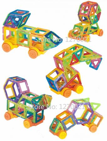 Детский магнитный конструктор с AliExpress на картинке