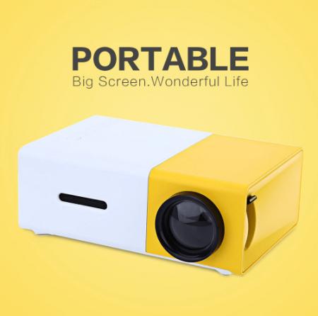 Портативный цифровой проектор с AliExpress на картинке