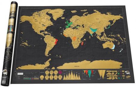 Карта мира со стираемым слоем с AliExpress на картинке