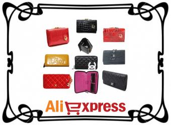 Мужские и женские кошельки на AliExpress