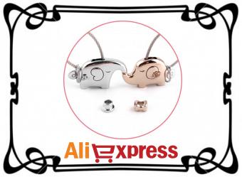 Пара романтических брелоков с AliExpress