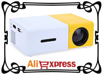 Портативный цифровой проектор с AliExpress