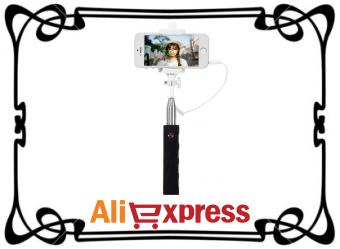 Селфи-палка с AliExpress