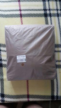 Мужская кожаная сумка через плечо с AliExpress посылка