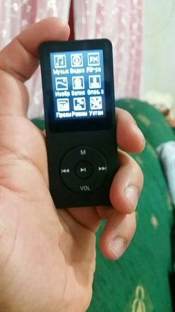 Многофункциональный MP3-плеер с AliExpress меню