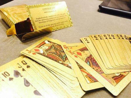 Сертифицированные игральные карты с AliExpress колода