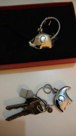 Пара романтических брелоков с AliExpress ключи