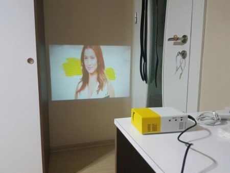 Портативный цифровой проектор с AliExpress картинка