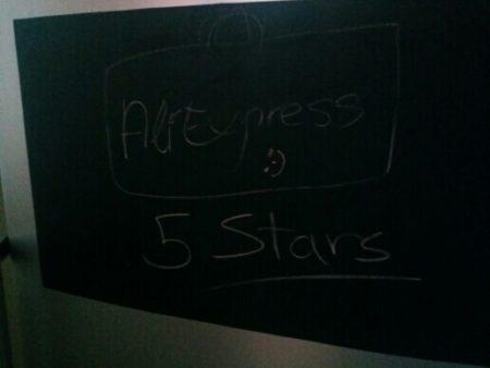 Классная виниловая доска с AliExpress 5 звёзд