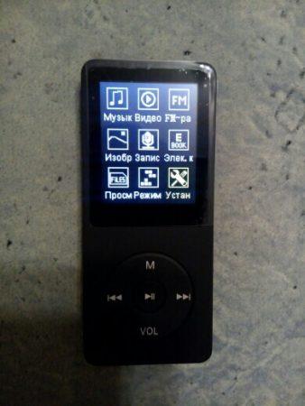 Многофункциональный MP3-плеер с AliExpress вид
