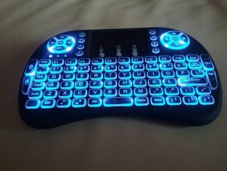 Беспроводная мини-клавиатура с AliExpress подсветка
