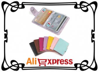 Держатели для карт и удостоверений личности на AliExpress