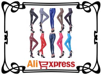 Женские леггинсы с AliExpress