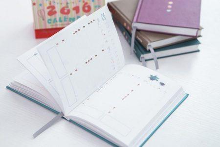 Обзор ежедневника с AliExpress на картинке