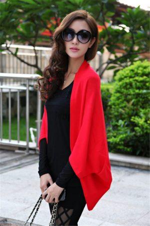 Стильный женский кардиган с AliExpress на картинке
