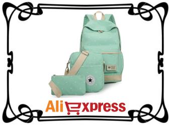 Комплект из трёх стильных женских сумок с AliExpress