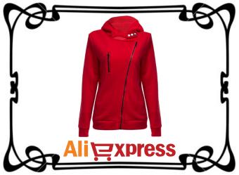 Тёплая женская толстовка с AliExpress
