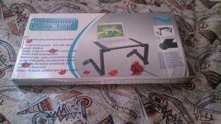 Мультифункциональная подставка для ноутбука с AliExpress в коробке