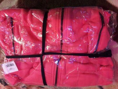 Тёплая женская толстовка с AliExpress упаковка