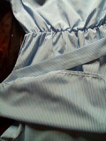 Модное женское летнее платье с AliExpress вблизи