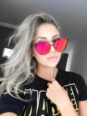 Стильные женские солнцезащитные очки с AliExpress селфи