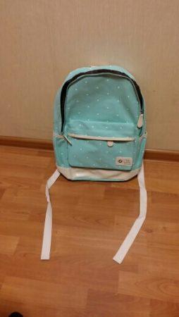 Комплект из трёх стильных женских сумок с AliExpress рюкзак