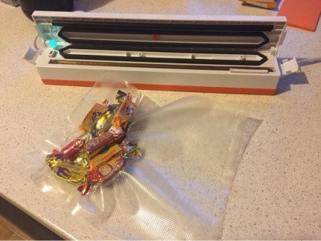 Вакуумная электрическая упаковочная машина с AliExpress конфеты