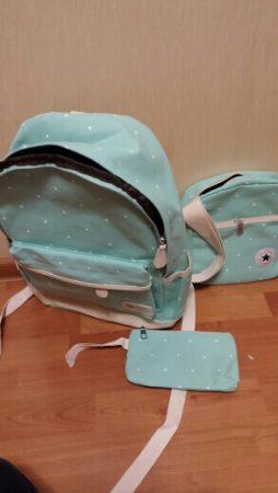 Комплект из трёх стильных женских сумок с AliExpress качество
