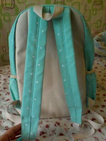 Комплект из трёх стильных женских сумок с AliExpress сзади