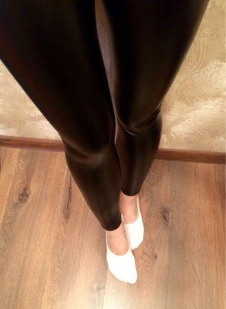 Женские леггинсы с AliExpress ножки