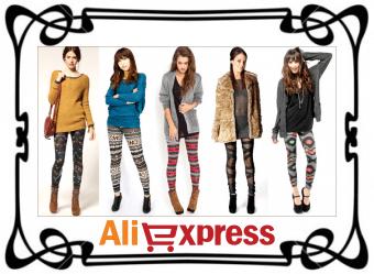 Юбки, леггинсы и джинсы на AliExpress