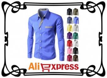 Как купить стильную мужскую рубашку на AliExpress
