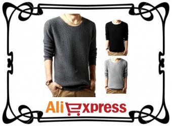 Как найти модные мужские свитера на AliExpress