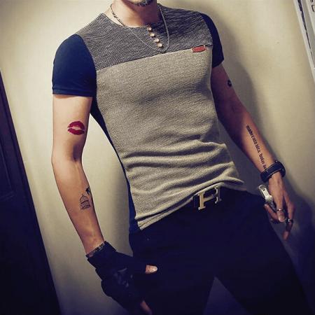 Мужская летняя футболка с AliExpress на картинке