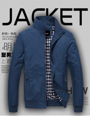 Мужская спортивная куртка с AliExpress на картинке