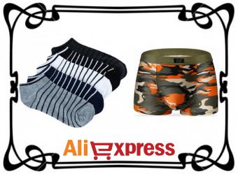 Мужские носки и нижнее бельё на AliExpress