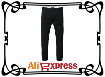 Повседневные мужские брюки с AliExpress
