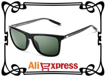 стильные мужские солнцезащитные очки с Aliexpress