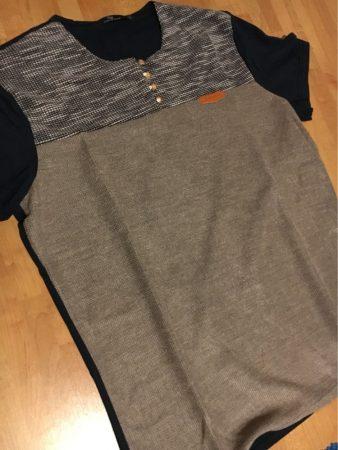 Мужская летняя футболка с AliExpress посылка