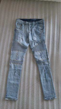 Модные мужские джинсы весна-лето с AliExpress на фото