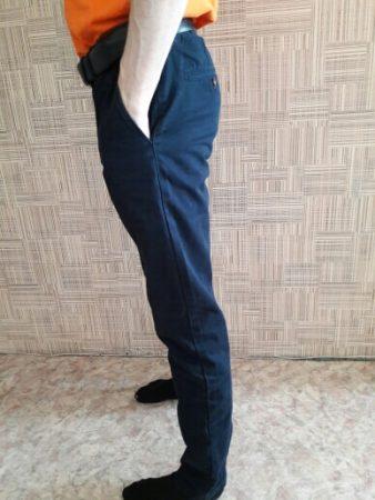 Повседневные мужские брюки с AliExpress бок
