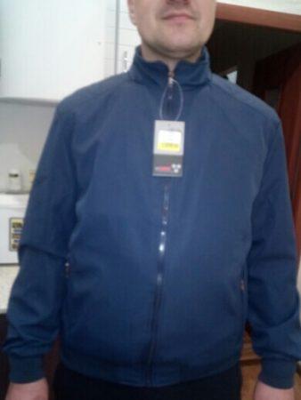 Мужская спортивная куртка с AliExpress вблизи