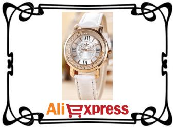 Модные женские наручные часы с AliExpress
