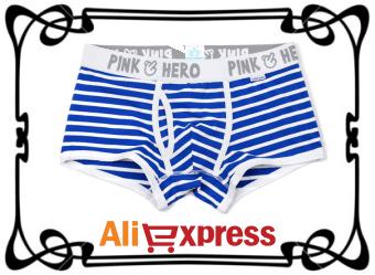 Удобное мужское нижнее бельё с AliExpress