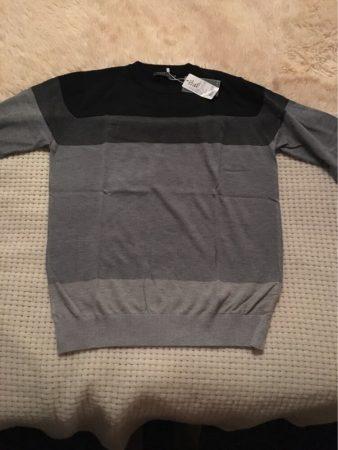 Стильный мужской пуловер с AliExpress на фото