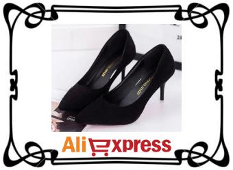 Изящные женские туфли на высоком каблуке с AliExpress