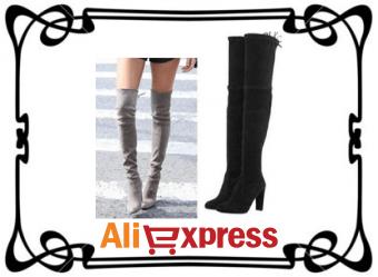 Как выбрать модные женские сапоги на AliExpress