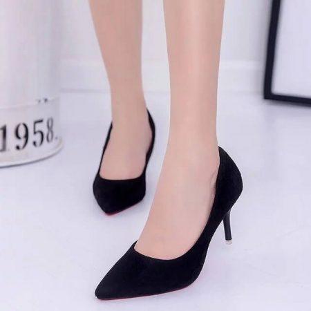 Изящные женские туфли на высоком каблуке с AliExpress на картинке